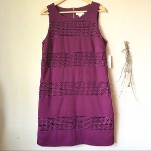 Jessica Simpson | Lace Inset Sheath Dress